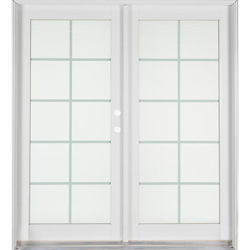 Ashworth Professional Series Aluminum/Wood French Patio Door
