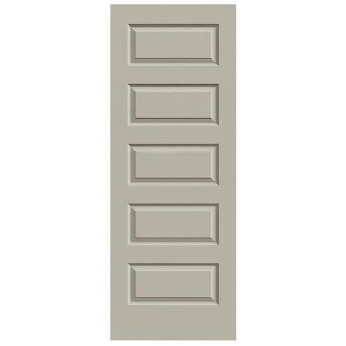 JELD-WEN Rockport Smooth Molded Composite MDF Interior Door Slab