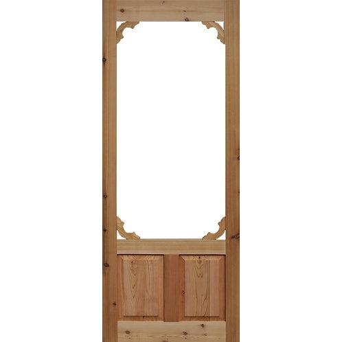 Kimberly Bay Woodland Cedar Screen Door