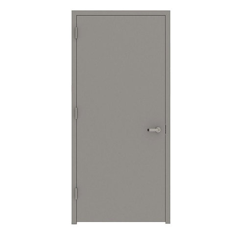 L.I.F. Industries Flush Fire Proof Steel Prehung Commercial Entrance Door