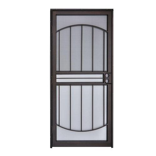 Grisham 555 Series Tuscany Steel Prehung Security Door