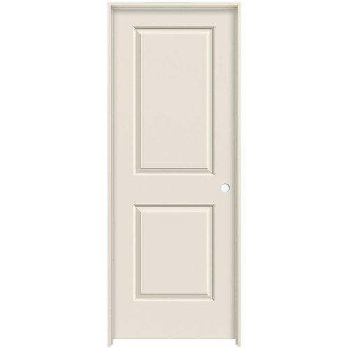 JELD-WEN Cambridge Smooth Molded Composite MDF Single Prehung Interior Door