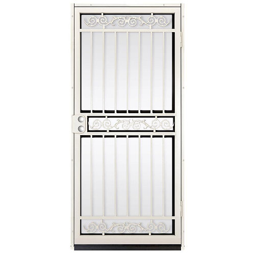Unique Home Designs Sylvan Outswing Security Door w/ Shatter-resistant Glass