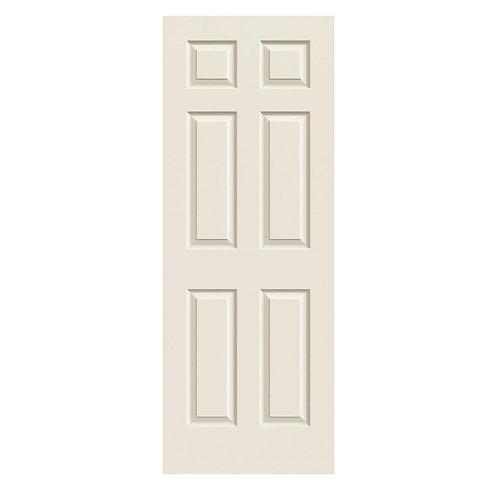 JELD-WEN Colonist Textured Molded Composite MDF Interior Door Slab