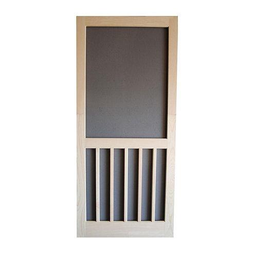 Screen Tight Wood 5-Bar Screen Door