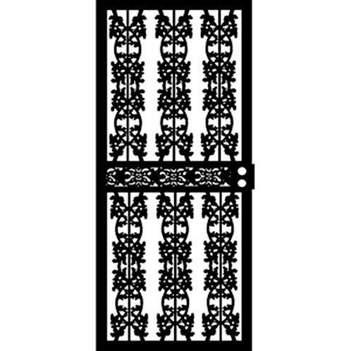 Grisham 403 Series Black Elm Security Door