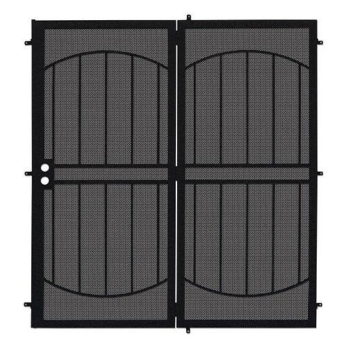 Unique Home Designs Arcada Projection Mount Security Door w/ Metal Screen