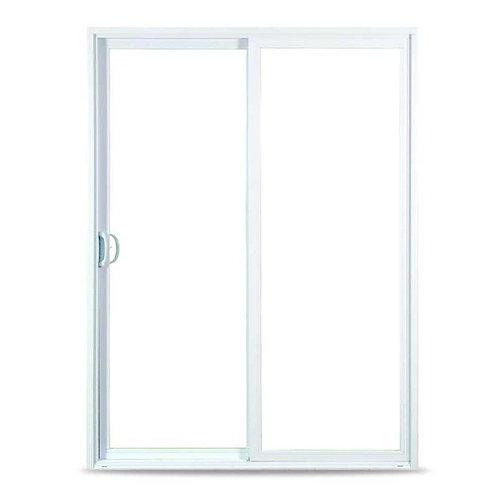 American Craftsman 50 Series White Vinyl Sliding Patio Door