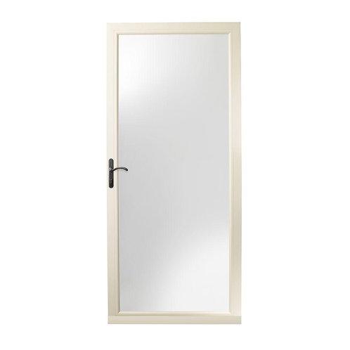 Andersen 3000 Series Self-storing Storm Door w/ Oil-Rubbed Bronze Hardware