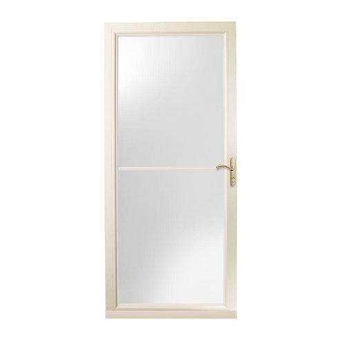Andersen 3000 Series Self-storing Aluminum Storm Door w/ Brass Hardware
