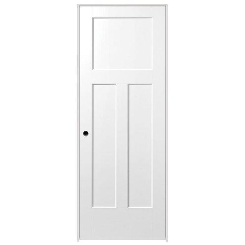 Masonite Winslow 3-Panel Hollow Core Composite Prehung Interior Door