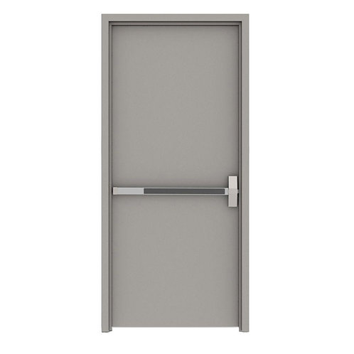 L.I.F. Industries Flush Fire Proof Steel Prehung Commercial Door w/ Welded Frame