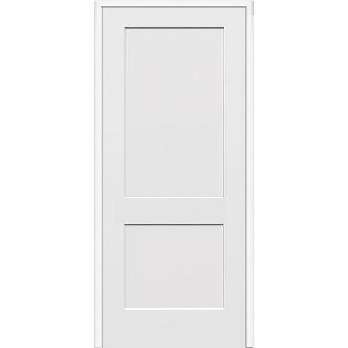 MMI Door 2-Panel Composite Solid Core MDF Prehung Interior Door