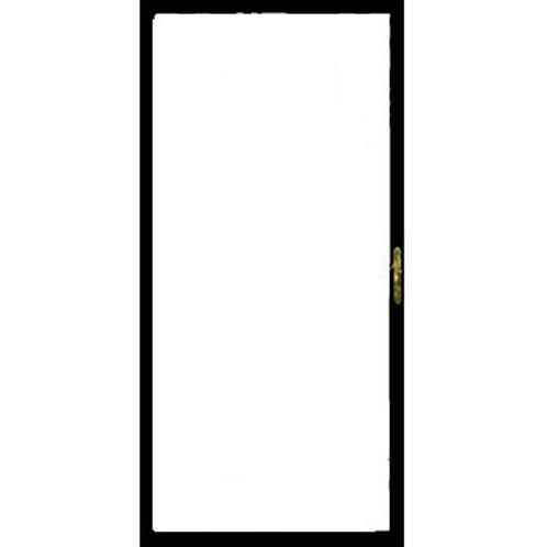 Grisham 310 Series Black Full View Security Door