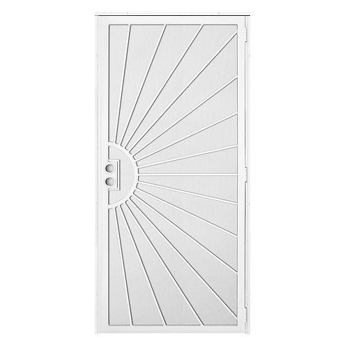 Unique Home Designs Solana Navajo Outswing Security Door