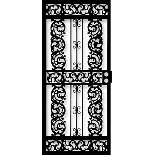 Grisham 414 Series Black Elegance Security Door