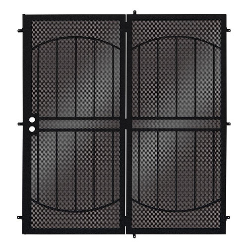 Unique Home Designs ArcadaMAX Projection Patio Security Door w/ Metal Screen