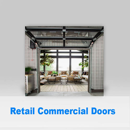 Retail Commercial Doors