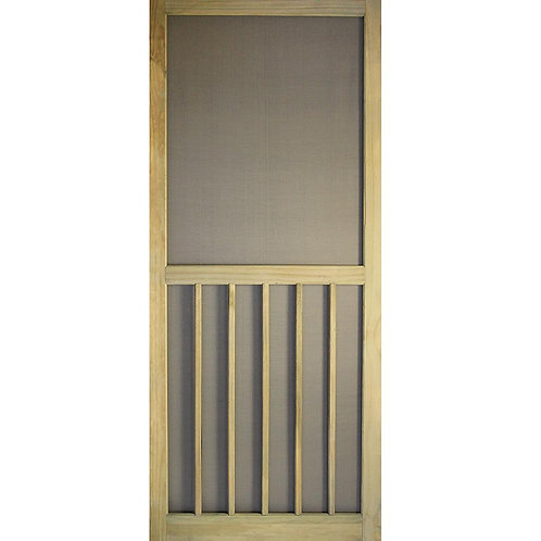 Kimberly Bay 5-Bar Premium Stainable Screen Door