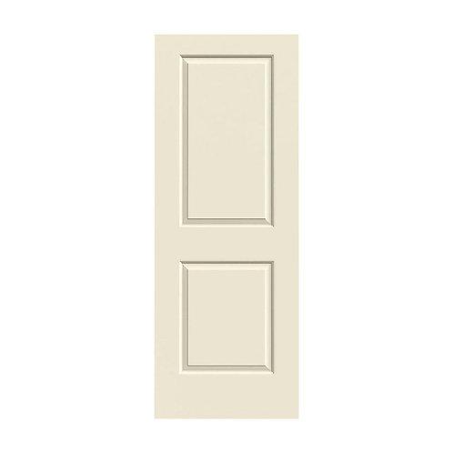 JELD-WEN Cambridge Smooth Molded Composite MDF Interior Door Slab