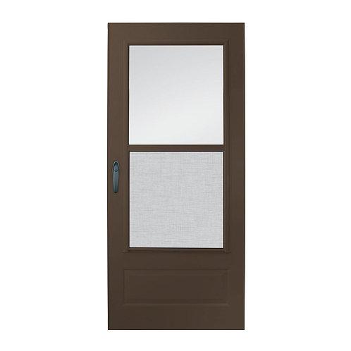 EMCO 100 Series Plus Self-storing Storm Door
