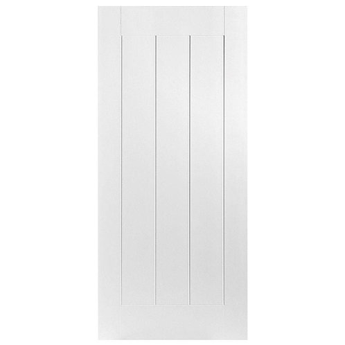 Masonite Saddlebrook Smooth 1-Panel Hollow Core Composite Interior Door Slab
