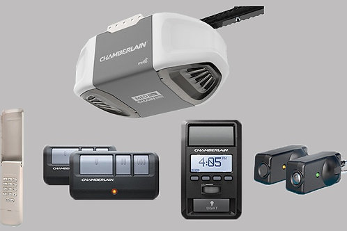 Chamberlain C870 Opener w/ Battery Backup & MAX Lifting Power