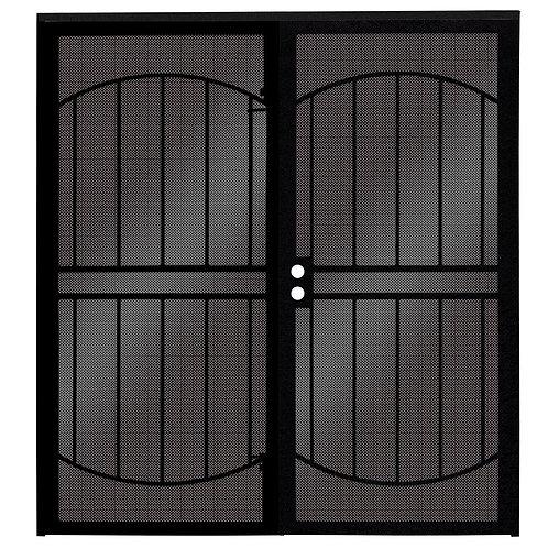 Unique Home Designs ArcadaMAX Surface Mount Patio Security Door w/ Metal Screen