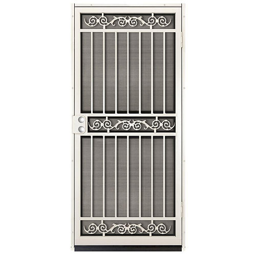 Unique Home Designs Sylvan Security Door w/ Insect Screen