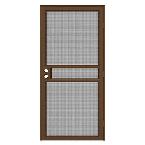 Unique Home Designs ClearGuard Security Door w/ Meshtec Screen