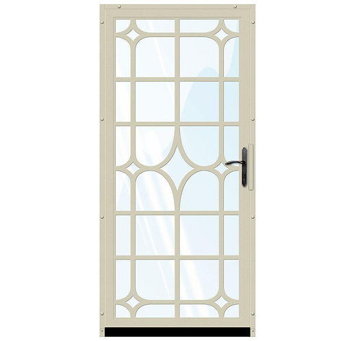 Unique Home Designs Lexington Security Door w/ Shatter-resistant Glass & Bronze