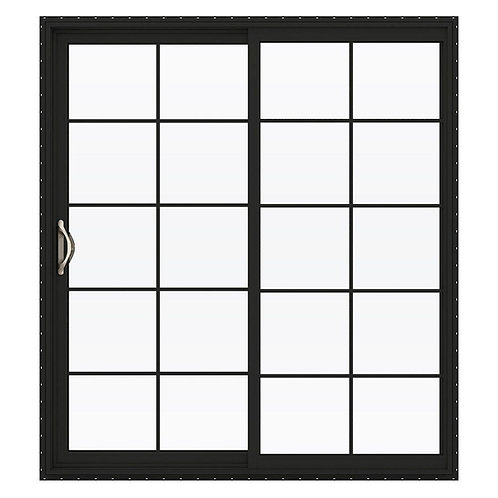 JELD-WEN V-2500 Series Vinyl Sliding Patio Door w/ Grids