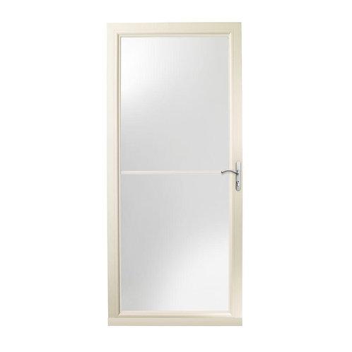 Andersen 3000 Series Self-storing Storm Door w/ Nickel Hardware