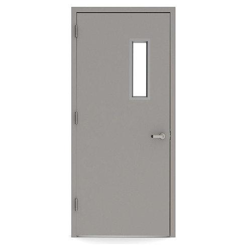 L.I.F. Industries Vision Lite 520 Steel Prehung Commercial w/ Welded Frame