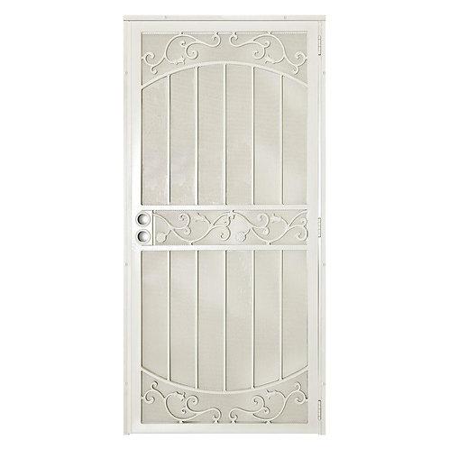Unique Home Designs La Entrada Security Door w/ Metal Screen