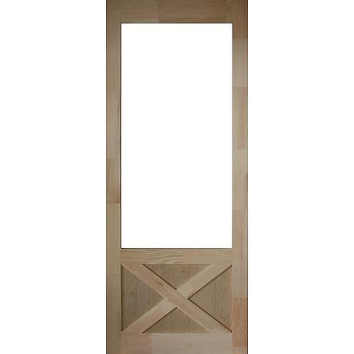Kimberly Bay Thompson Natural Pine Screen Door
