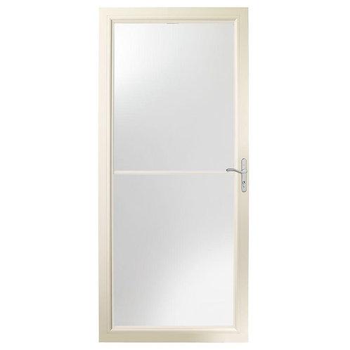 Andersen 2500 Series Self-storing Aluminum Storm Door w/ Nickel Hardware