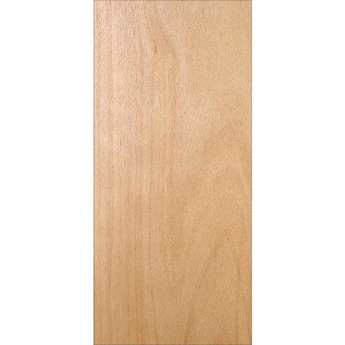 JELD-WEN Unfinished Flush Hardwood Interior Door Slab