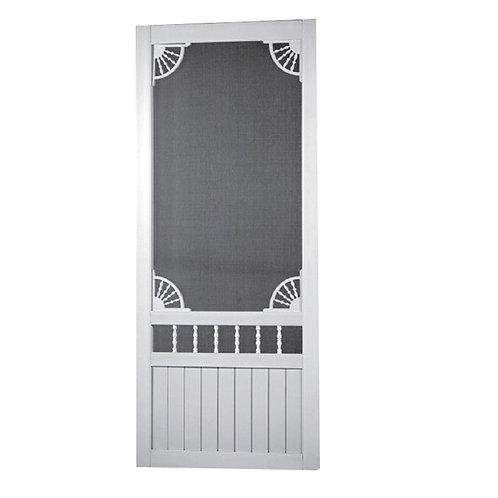 Screen Tight Laurel Bay Solid Vinyl Screen Door