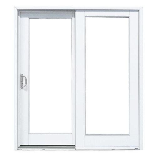 MP Doors Woodgrain Interior Exterior Composite Sliding Patio Door