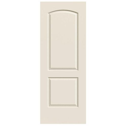 JELD-WEN Continental Smooth Molded Composite MDF Interior Door Slab