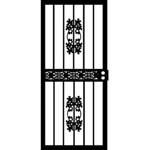 Grisham 404 Black Niagara Security Door