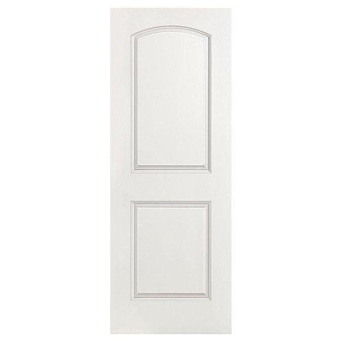Masonite Roman Smooth 2-Panel Round Top Hollow Core Composite Interior Door Slab