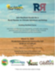 Rural Routes to Climate Solutions Worksh