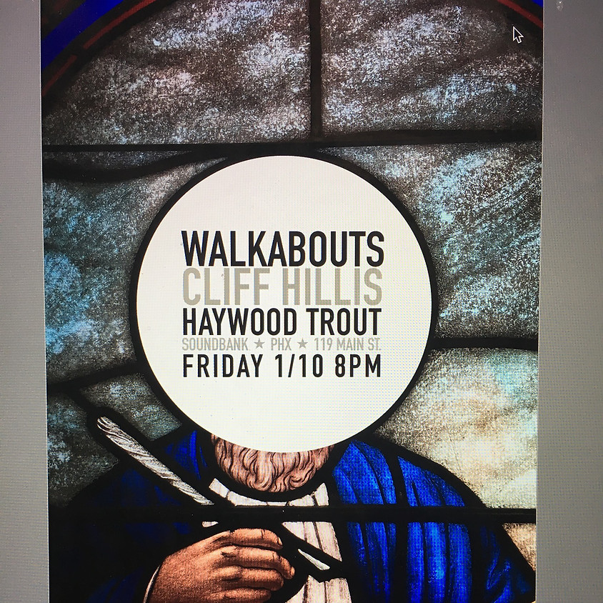 The Walkabouts / Cliff Hillis / Haywood Trout