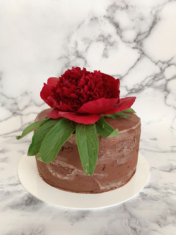 Birthday Cake for Chocoholics