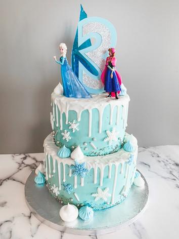 Ice Princess Birthday Cake