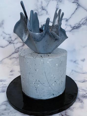 Concrete cake