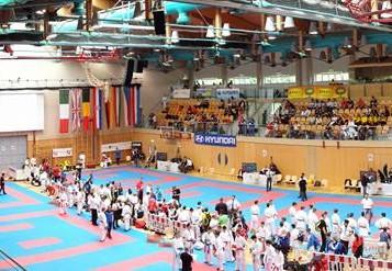 Die Shinsei Kan Karateschule startet an der Junior Karate League in Salzburg