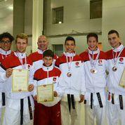 Ilija Letic von der Shinsei Kan Karateschule erfolgreich an der Karate-Europameisterschaft in Moskau